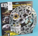 SPEED TRIPLE 1050 ABS 2007-15: Rear Brake Disc. EBC MD820: KBA/TuV:
